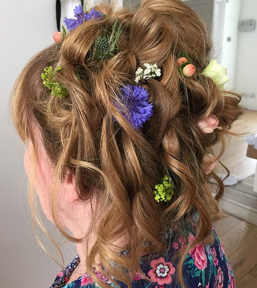 wedding hair torquay