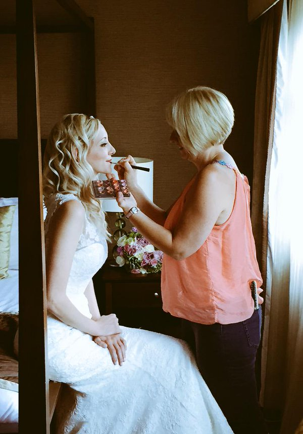 wedding hair and make up exeter devon