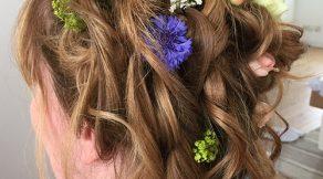 wedding hair Illfracombe