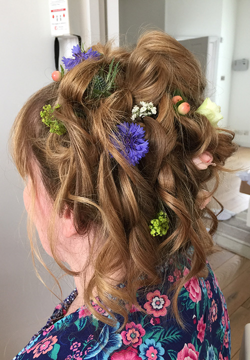 wedding hair Illfracombe